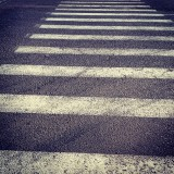 Ivangorod: Zebra crossing